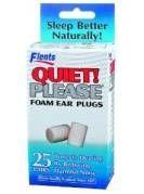 Flents Quiet Please Foam Ear Plugs 25 Pair