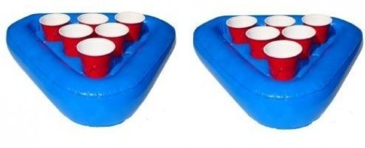 Floating Beer Pong Set