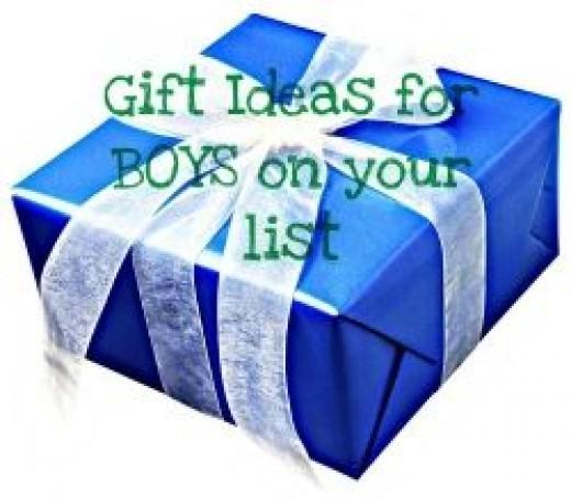 Gift Ideas Boys