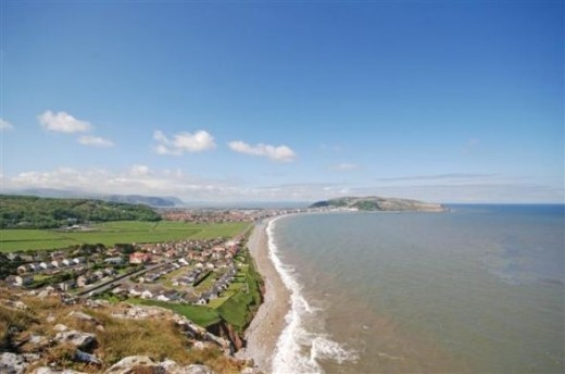 View from the Little Orme