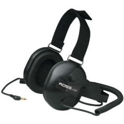 Race Tracker Black Passive Noise Cancellation Stereophone