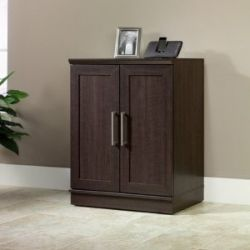 HomePlus Base Cabinet Dakota Oak/Brushed Nickel Handles