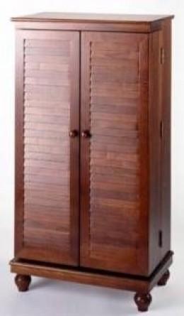 Solid Oak, Fully Assembled Storage Cabinet