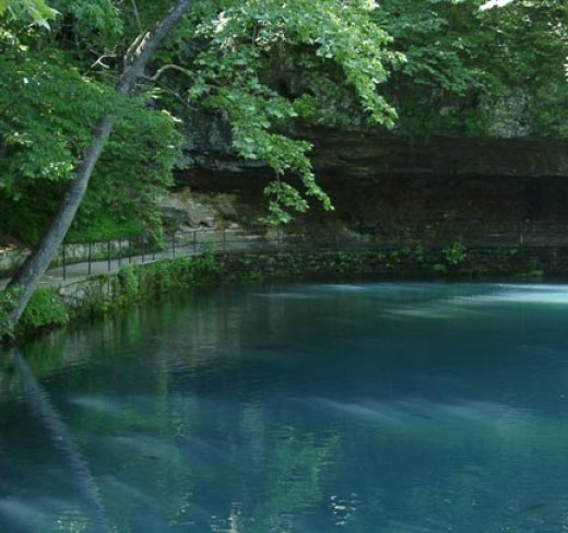 Some of the views of Greer, Bennett or Meramec Springs are simply breath taking!