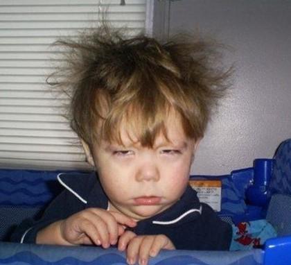 How I wake up.