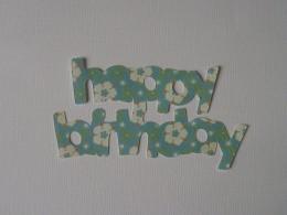 Happy Birthday bottom layer