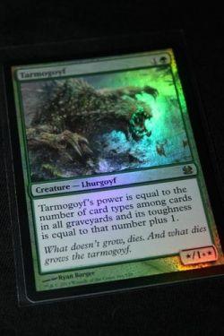 tarmogoyf mtg modern foil