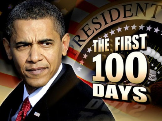 President Obama's First 100 Days Have Been Busy.