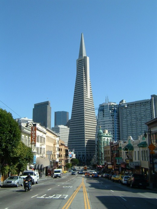 Transamerica Pyramid, San Francisco California