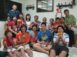 Happy Family! A Grandma & Mother's Joy