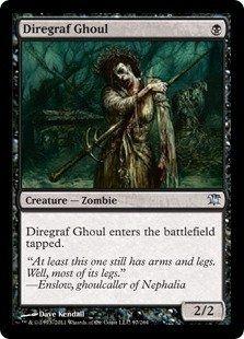 MTG Zombie Deck ISD Diregraf Ghoul
