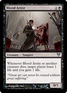 MTG Zombie Deck Blood Artist