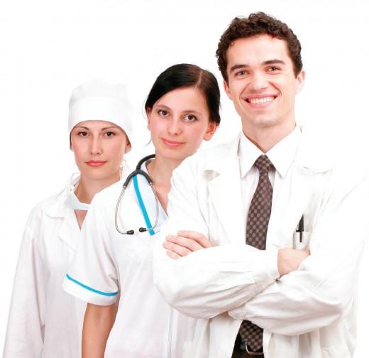 Doctors and Nurse deserve good salaries but dont' we deserve good service?