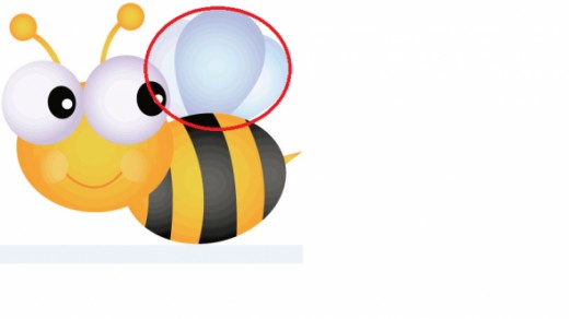 Bee with Wings Change
