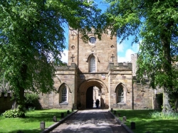 Entrance to Durham Castle