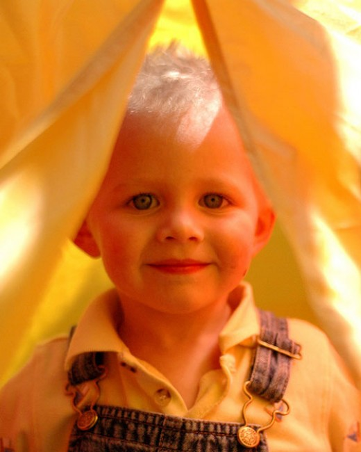 """""""We all live in a yellow kid teepee."""""""