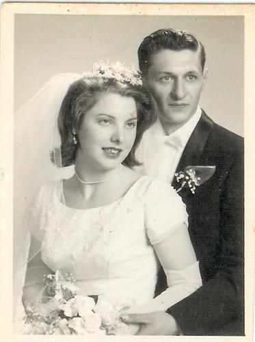 Mom & Dad's wedding portrait