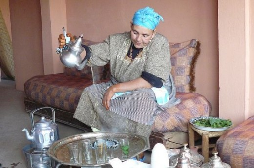 Moroccan Tea Ceremony by Jon Lean