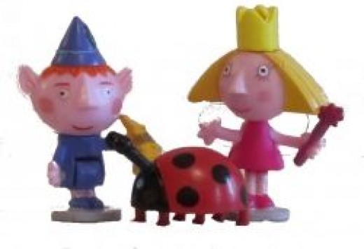 Ben, Holly and Gaston