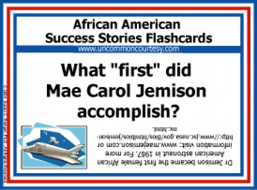 African American Success Stories Bingo and Flashcards