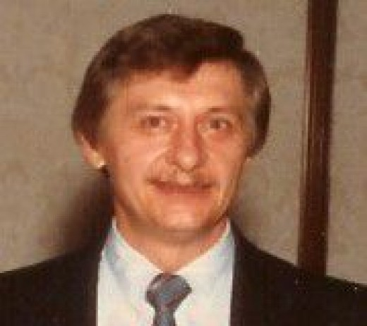 Dad. Sometime in the 80s?
