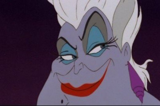 Ursula's in a good mood... watch out!