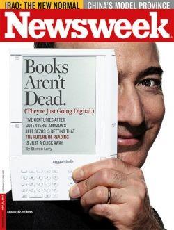 kindle in newsweek