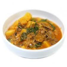 Potato stew with mushrooms