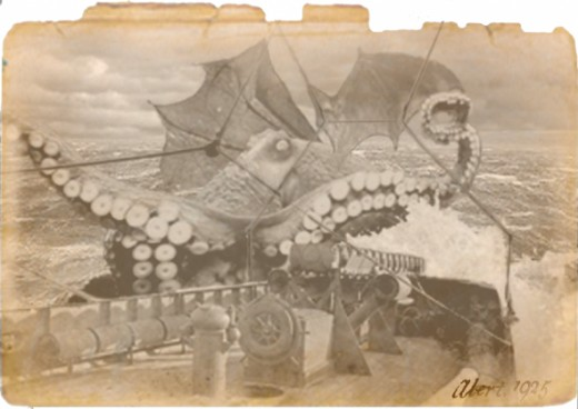 Cthulhu photograph