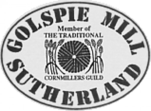 The logo of the Golspie Mill