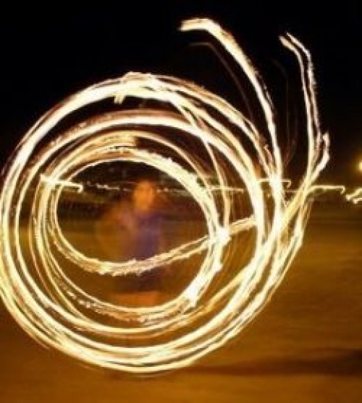 The Incendiary Faerie Fire Hoops