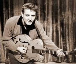 "Eddie Cochran---died 1960--- A Rock & Roll Hall of Fame Inductee. One of the early rockers. He recorded the original ""Summertime Blues""."