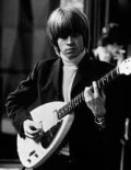 Brian Jones---died 1969---A Rock & Roll Hall of Fame Inductee. Played guitar, keyboards and saxophone. Most famous as lead guitar in The Rolling Stones.