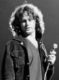 "Jim Morrison---died 1971--- A Rock & Roll Hall of Fame Inductee. The always charismatic and controversial leader of ""The Doors"". Fabulous voice !"