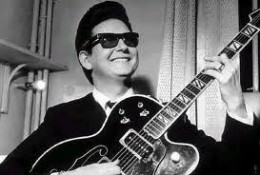 Roy Orbison---Credited earlier on guitar but lending his baritone, three octave voice to our show.
