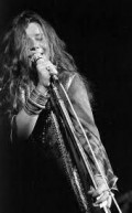 "Janis Joplin---died 1970--- A Rock & Roll Hall of Fame Inductee. With her bands ""Big Brother and The Holding Company"", ""The Kosmic Blues Band"" and ""The Full Tilt Boggie Band"", Janis took a piece of our hearts and left an indelible mark on rock hi"