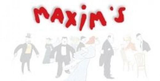Maxim's de Paris Logo (marcdelage.unblog.fr)