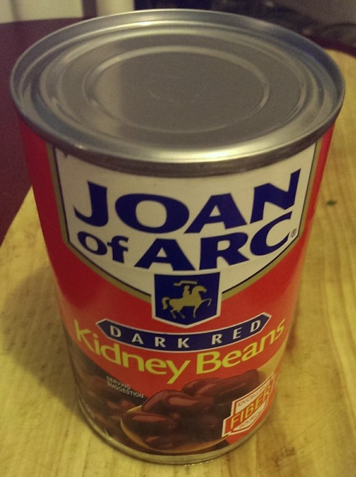Because Joan of Arc was known for her kidney beans. {¬_¬}