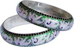 Indian Silver Bangle Bracelets
