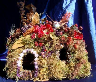 Grapevine Cottage Fairy House