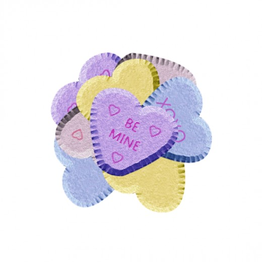 Be Mine Valentine Candy Clip Art