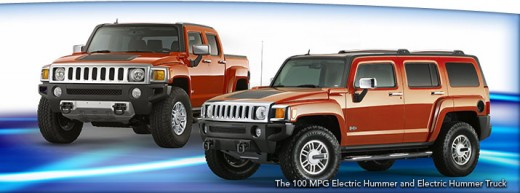 The 100 MPG Electric Hummer (rasertech.com)
