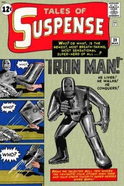 Tales of Suspense #39 1st Appearance of Iron Man