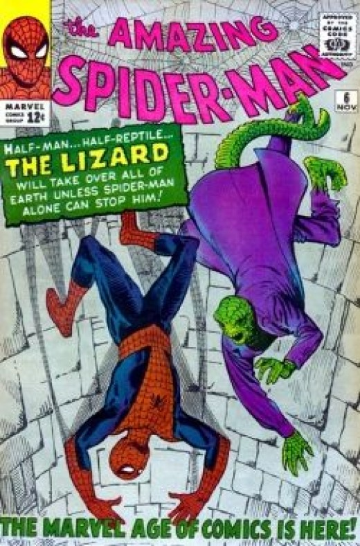 Amazing Spider-Man #6 1st Appearance of the Lizard
