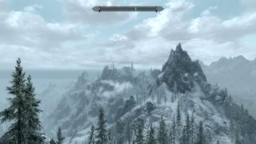 Mountains of Skyrim