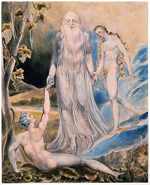 The Creation of Eve by William Blake.