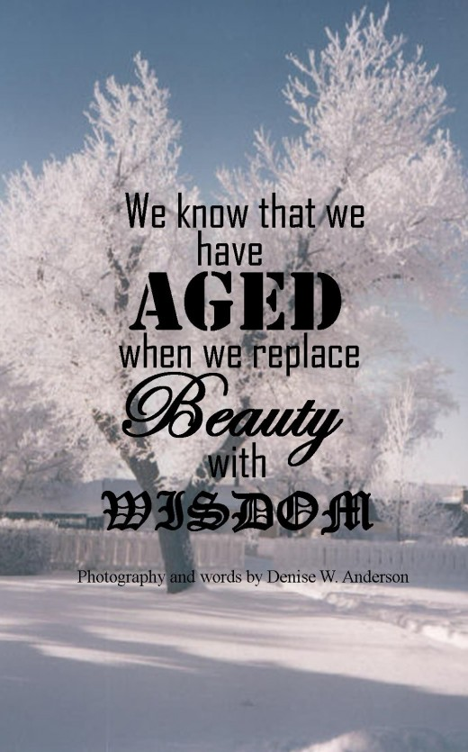 As we age, we grow in our understanding of how life works and why things happen.