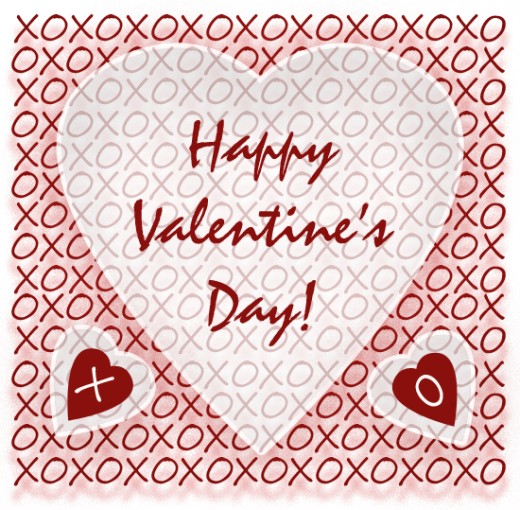 XOXO Hugs And Kisses Valentine's Day Clip Art