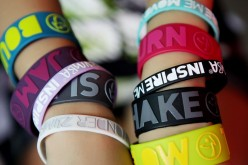 Fashionable Rubber Wristbands
