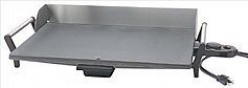 Stainless Steel Electric Griddle - Clean, Attractive, and Safe!